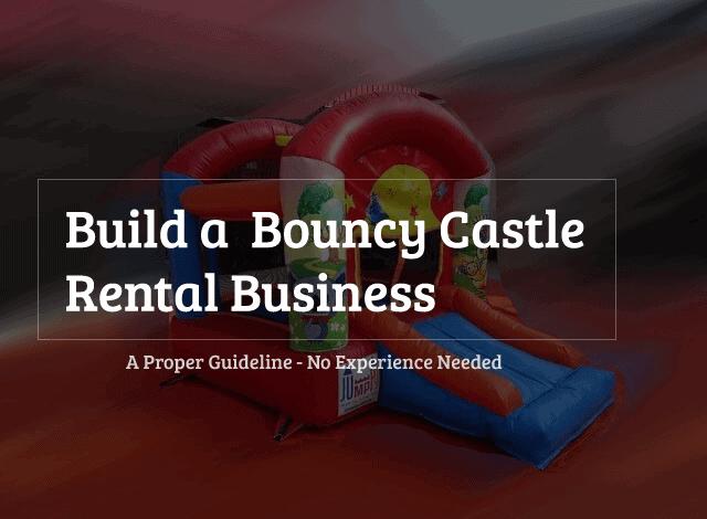 bouncy castles rental business