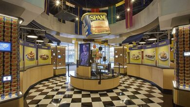 Photo of A Spam Museum Exhibit Tells the story of Spam