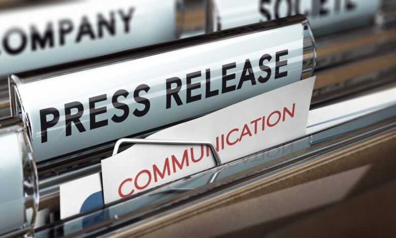 business press release